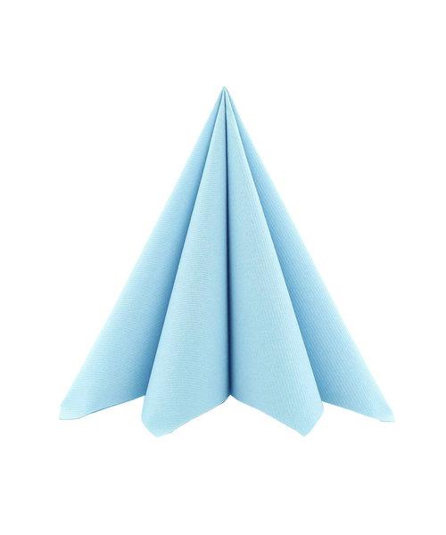 Servet Airlaid Light 24x24cm uni Lichtblauw kopen