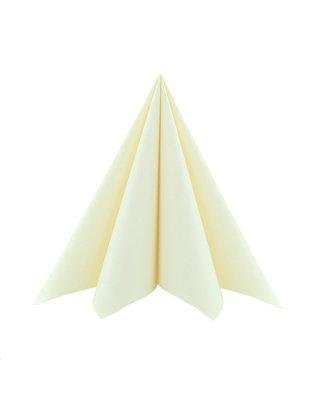 Servet Airlaid Light 40x40cm uni Creme