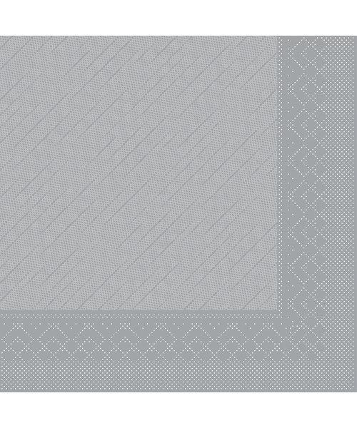 Servet Tissue Deluxe Light 3 laags 40x40cm Uni Grijs bestellen