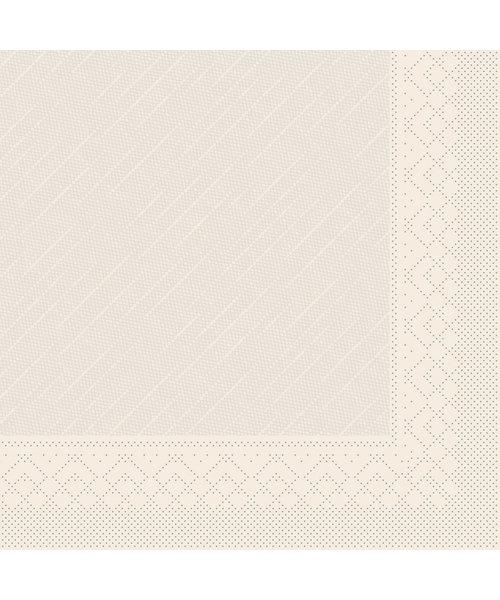 Servet Tissue Deluxe Light 3 laags 40x40cm Uni Recycled Bruin bestellen
