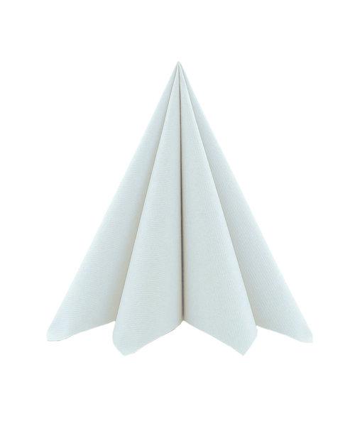 Cocktailservet Airlaid Light 17x17cm uni Parelgrijs kopen