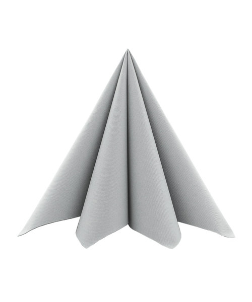 Cocktailservet Softpoint 17x17cm, Grijs kopen