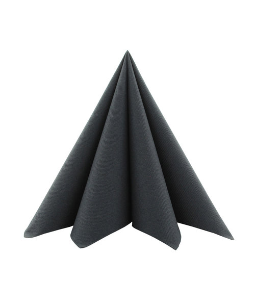 Cocktailservet Softpoint 20x20cm, Zwart kopen