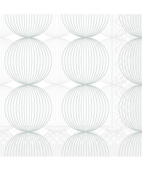 Servet Tissue 3 laags Ludo Grijs 40x40cm bestellen