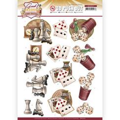 SB10507 - Uitdrukvel - Yvonne Creations - Good Old Days - Games