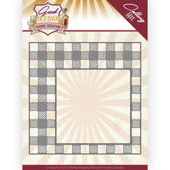 YCD10220 - Mal - Yvonne Creations - Good Old Days - Checkered Frame