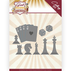 YCD10223 - Mal - Yvonne Creations - Good Old Days - Chess Game