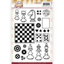YCCS10061 - Stempel - Yvonne Creations - Good Old Days - Games