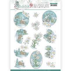 SB10503 - Uitdrukvel - Yvonne Creations - Winter Time - Edelweiss