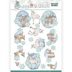 SB10504 - Uitdrukvel - Yvonne Creations - Winter Time - Deer