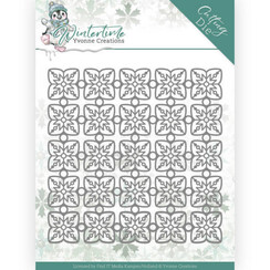 YCD10214 - Mal - Yvonne Creations - Winter Time - Snowflake Pattern