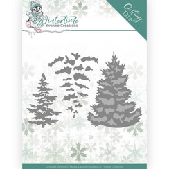 YCD10216 - Mal - Yvonne Creations - Winter Time - Pine Tree