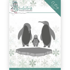 YCD10218 - Mal - Yvonne Creations - Winter Time - Penguins on Ice