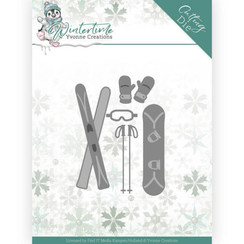 YCD10219 - Mal - Yvonne Creations - Winter Time - Ski Accessories