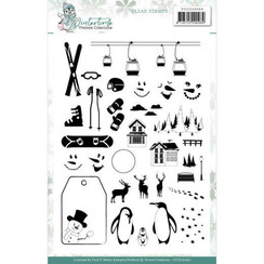 YCCS10060 - Stempel - Yvonne Creations - Winter Time