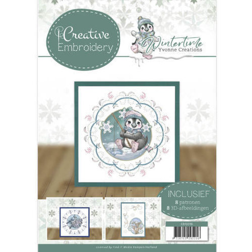 Yvonne Creations CB10019 - Creative Embroidery 19 - Yvonne Creations - Winter Time
