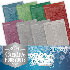 CHSTS007 - Creative Hobbydots 7 - Jeanines Art- The colours of winter - Sticker Set