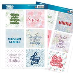 JATD1004 - Text Designs - Jeanines Art- The colours of winter (EN)