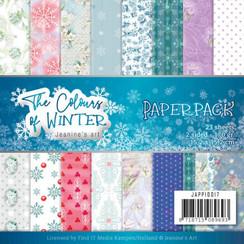 JAPP10017 - Papierpak - Jeanines Art- The colours of winter