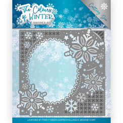 JAD10108 - Mal - Jeanines Art- The colours of winter - Winter Frame