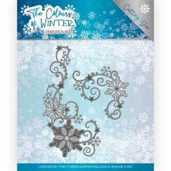 JAD10109 - Mal - Jeanines Art- The colours of winter - Winter Swirl