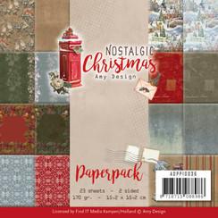 ADPP10036 - Papierpak - Amy Design - Nostalgic Christmas