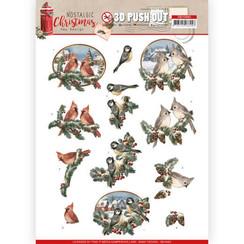 SB10483 - Uitdrukvel - Amy Design - Nostalgic Christmas - Christmas Birds