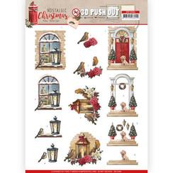 SB10484 - Uitdrukvel - Amy Design - Nostalgic Christmas - Warm Christmas