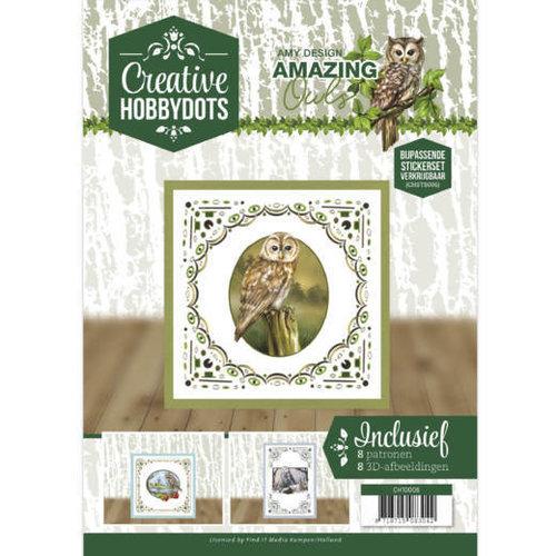 Amy Design CH10006 - Creative Hobbydots 6 - Amy Design - Amazing Owls