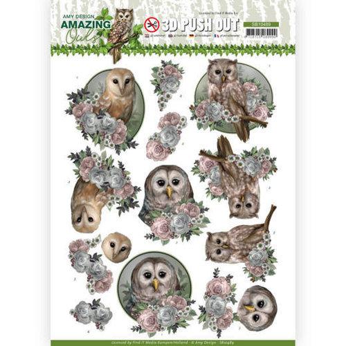 Amy Design SB10489 - Uitdrukvel - Amy Design - Amazing Owls - Romantic Owls