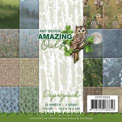 ADPP10035 - Papierpak - Amy Design - Amazing Owls