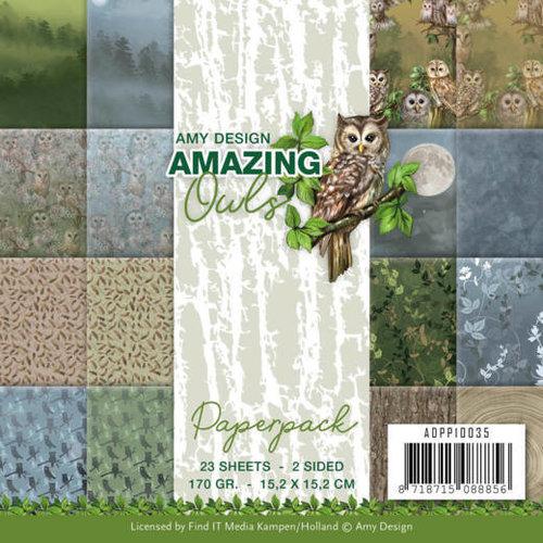 Amy Design ADPP10035 - Papierpak - Amy Design - Amazing Owls