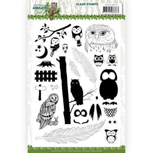 Amy Design ADCS10070 - Stempel - Amy Design - Amazing Owls