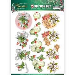SB10479 - HJ18601 - Uitdrukvel - Jeanines Art  Christmas Flowers - Christmas Bells