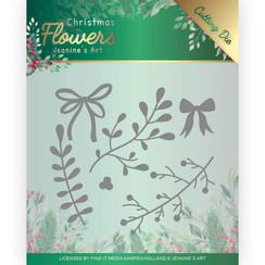 JAD10106 - Mal - Jeanines Art  Christmas Flowers - Mistletoe