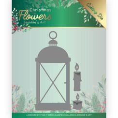 JAD10104 - Mal - Jeanines Art  Christmas Flowers - Christmas Lantern
