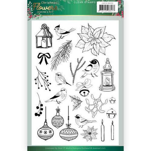 Jeanines Art JACS10033 - Stempel - Jeanines Art  Christmas Flowers