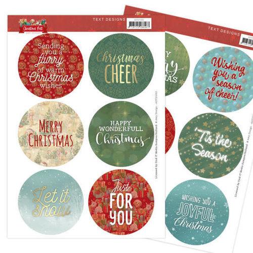 Amy Design ADTD1002 - Text Designs - Amy Design - Christmas Pets (EN)