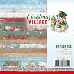 YCPP10033 - Papierpak - Yvonne Creations - Christmas Village
