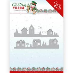 YCD10213 - Mal - Yvonne Creations - Christmas Village - House Scene