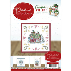 CB10016 - Creative Embroidery 16 - Yvonne Creations - Christmas Village