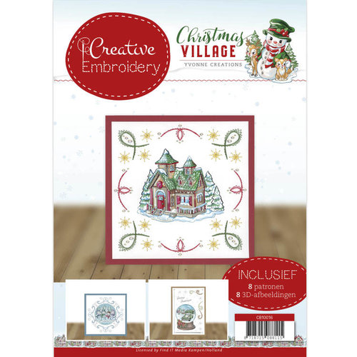 Yvonne Creations CB10016 - Creative Embroidery 16 - Yvonne Creations - Christmas Village