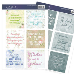 JATD1001 - Tekst Designs - Jeanines Art- Sensitive Moments (NL)