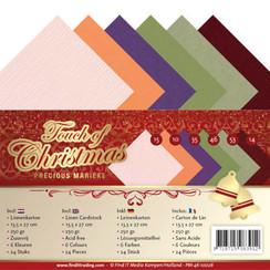 PM-4K-10026 - Linnen karton Pack - 4K - Precious Marieke - Touch of Christmas