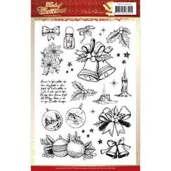 PMCS10045 - Stempel - Precious Marieke - Touch of Christmas