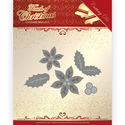 PM10187 - Mal - Precious Marieke - Touch of Christmas - Poinsettia