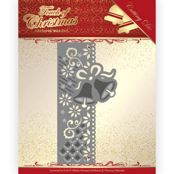 PM10184 - Mal - Precious Marieke - Touch of Christmas - Christmas Bells Border