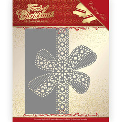PM10183 - Mal - Precious Marieke - Touch of Christmas - Christmas Bow Border