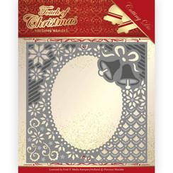PM10182 - Mal - Precious Marieke - Touch of Christmas - Christmas Bells Frame