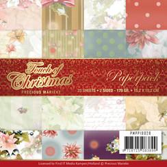 PMPP10028 - Papierpak - Precious Marieke - Touch of Christmas